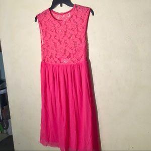 ASOS Pink Sleeveless Maternity Dress, Sz 4